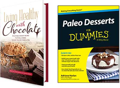 Living Healthy With Chocolate Cookbooks