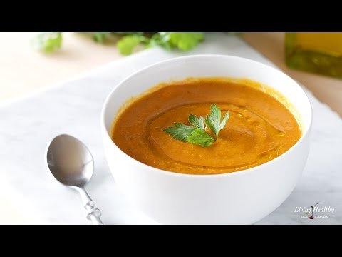 Healthy Carrot-Apple Soup (Paleo, Gluten-free, Whole30)