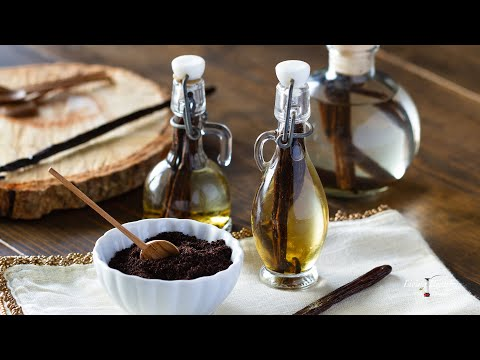How to Make Vanilla Extract & Vanilla Powder (2 ingredients)