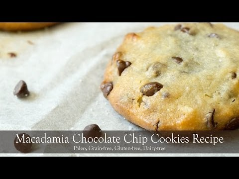 Macadamia Chocolate Chip Cookies Recipe | Living Healthy With Chocolate