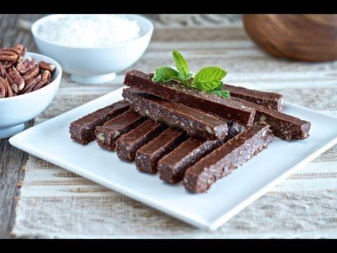 Healthy Peppermint Chocolate Sticks Recipe (paleo, gluten-free)