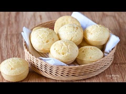 Easy Brazilian Cheese Bread Recipe (Pão de Queijo)