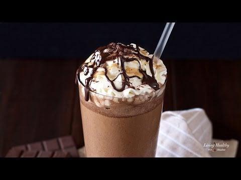 Starbucks Mocha Frappuccino Recipe (Paleo, Vegan, Low-carb option)