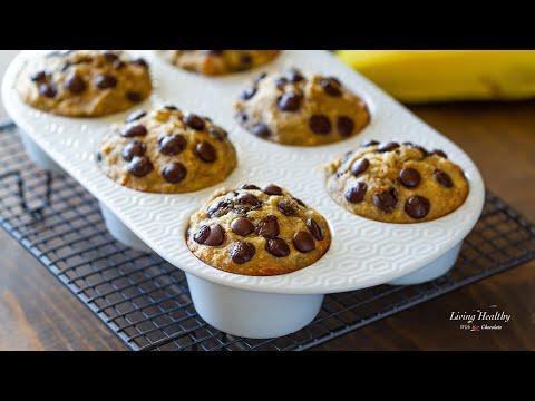 Coconut Flour Banana Muffins | AMAZING Recipe (Paleo, Gluten-free)