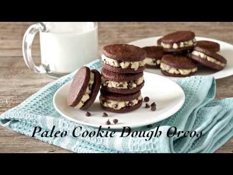 Paleo Cookie Dough Oreos Recipe | Living Healthy With Chocolate