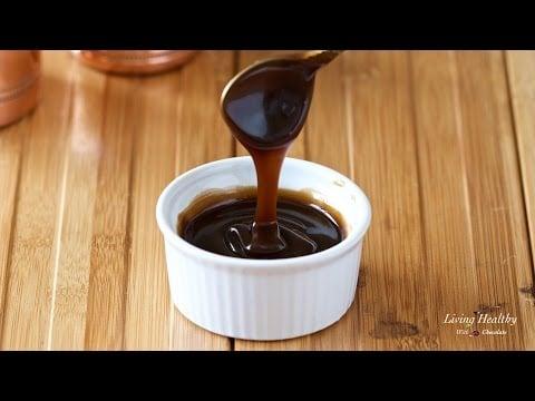 Caramel Sauce (Vegan & Paleo, refined sugar-free)