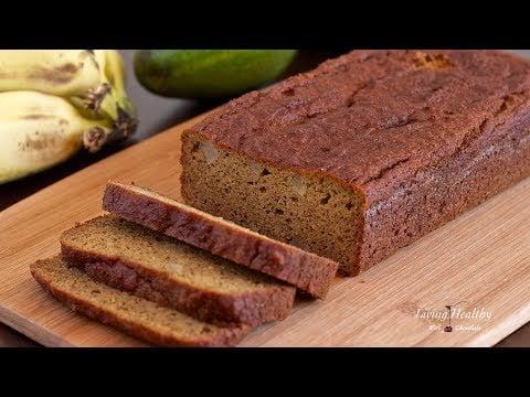 Avocado Banana Bread Recipe (gluten/grain/dairy-free,Paleo/Vegan)