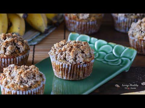 ALMOND FLOUR Banana Muffins (Paleo, Gluten free) - Healthy & SO Good!