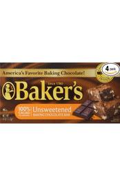Unsweetened Baking Chocolate