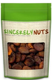 package of Sincerely Nuts dried apricots