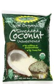 Unsweetened Coconut Shredded
