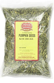 package of pumpkin seeds