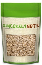 package of Sincerely Nuts raw sunflower seeds