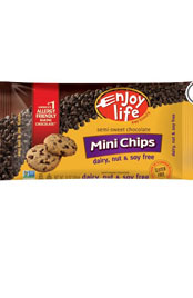 package of Enjoy Life mini chocolate chips