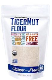 package of Tiger Nut flour