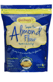 bag of wellbees super fine almond flour