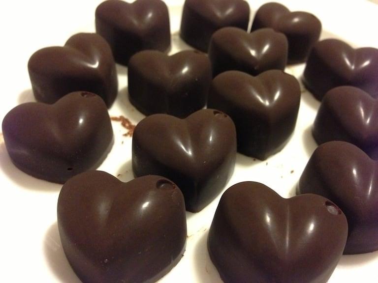 homemade paleo chocolate 009