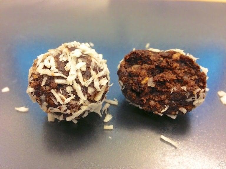 paleo chocolate truffle 010