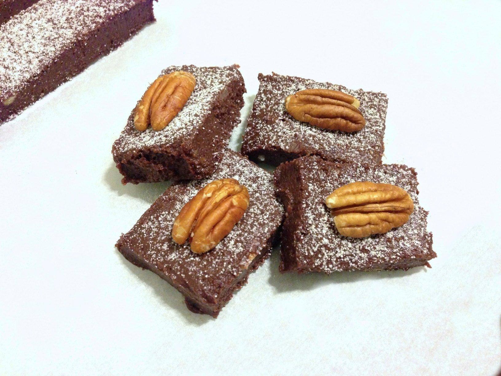 paleo Chocolate Cherry fudge bars