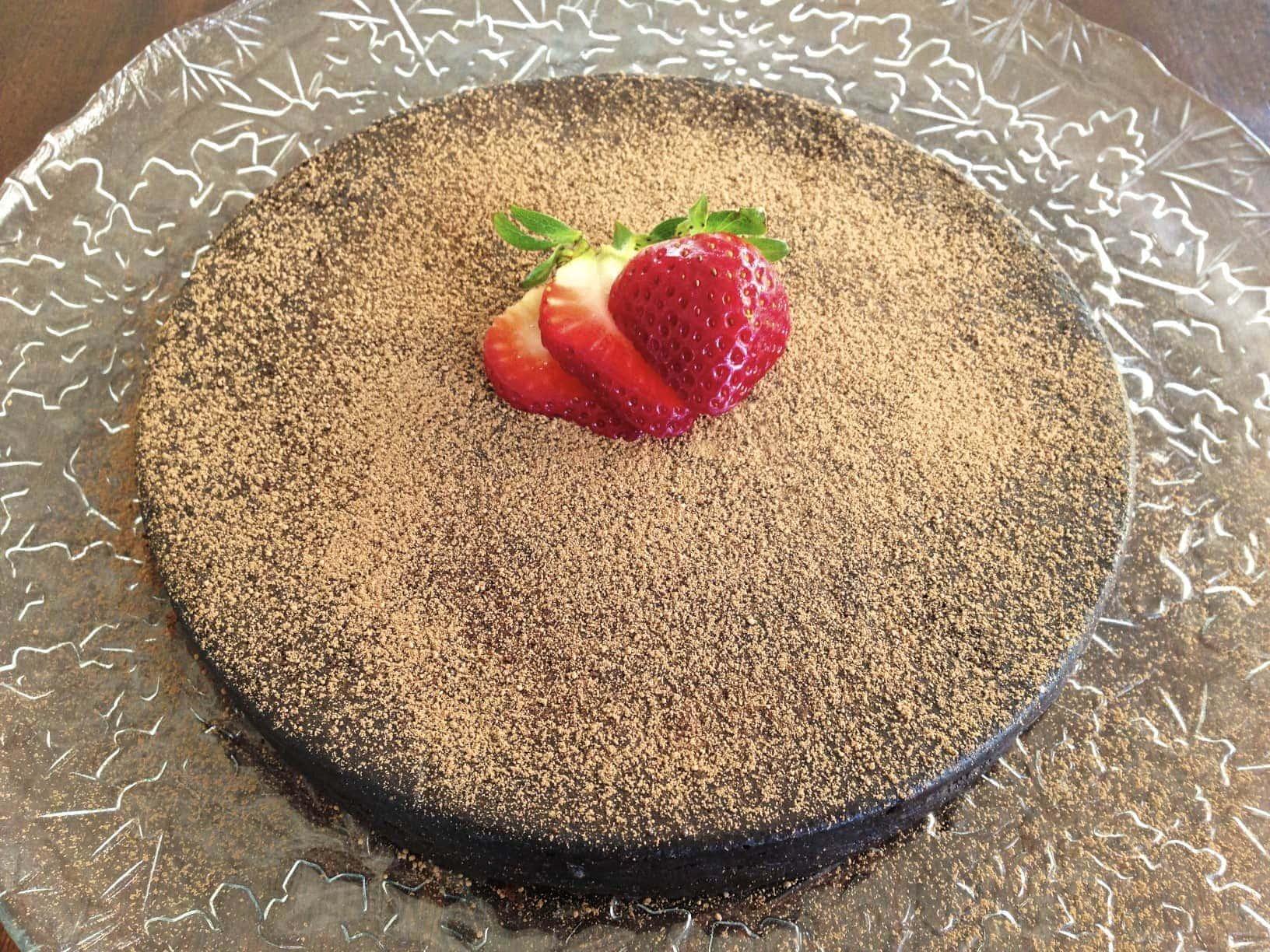 paleo chocolate torte