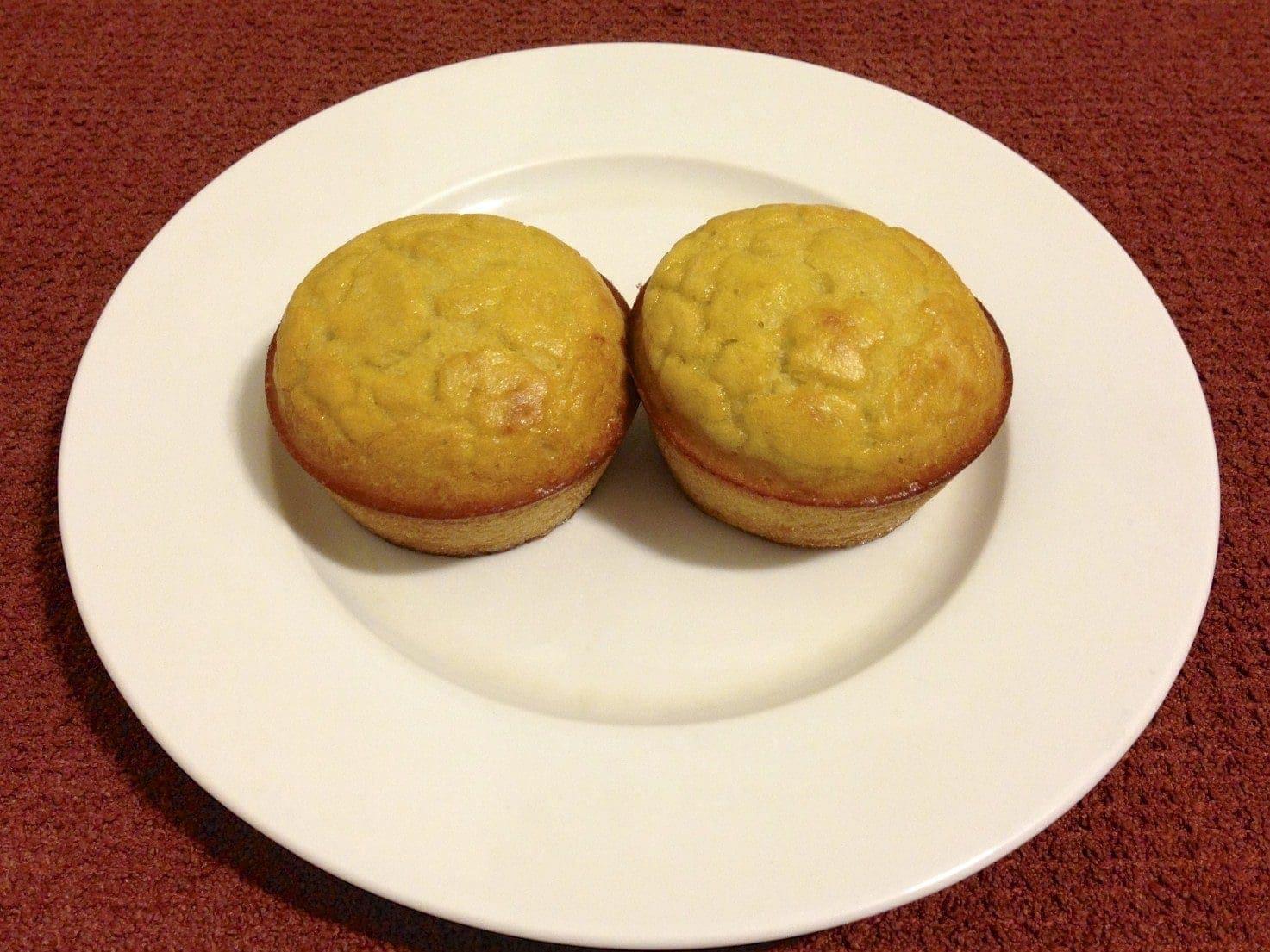 paleo coconut flour orange muffin