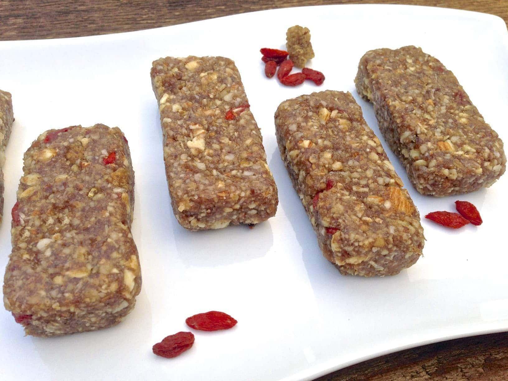 Mulberry & Goji Berry Energy Bars