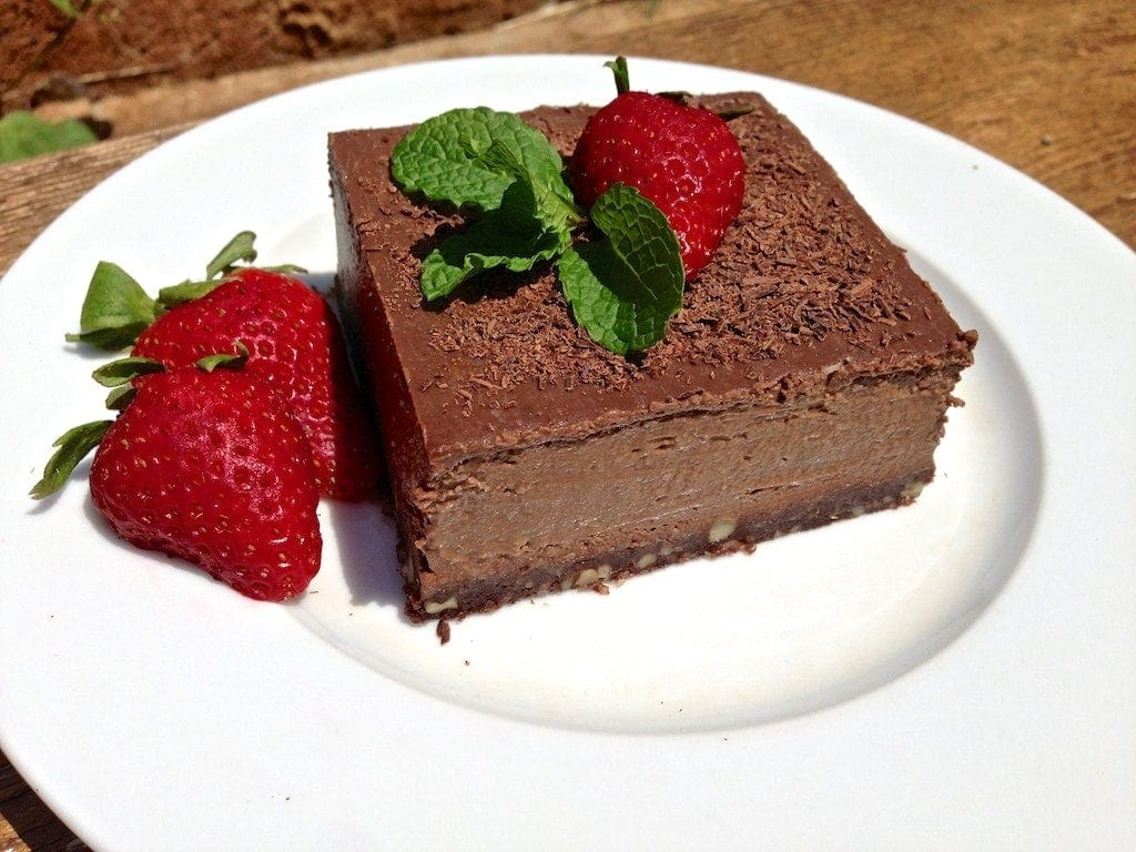Paleo Chocolate Truffle Pie