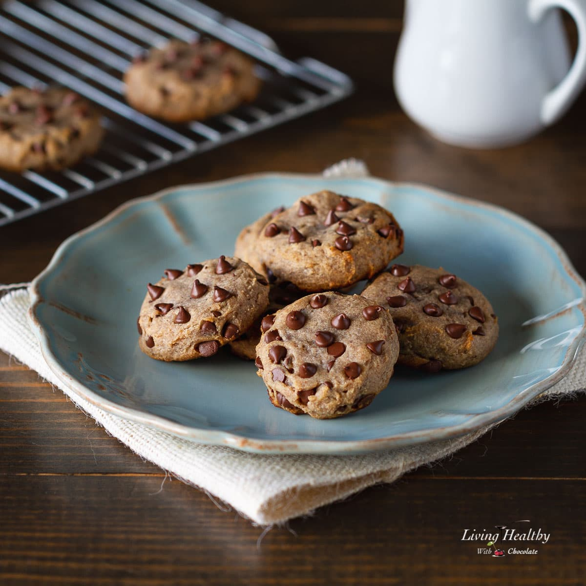Paleo Flourless Chocolate Chip Cookies