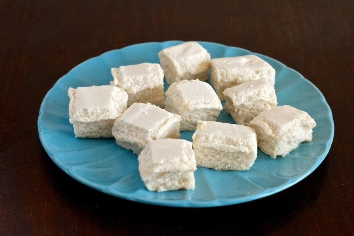 homemade paleo marshmallow