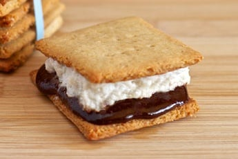 ... , Marshmallows and S'mores Recipe - Living Healthy With Chocolate