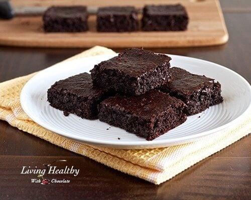Flourless Fudgy Brownie Recipe Nut Dairy Gluten Free Paleo