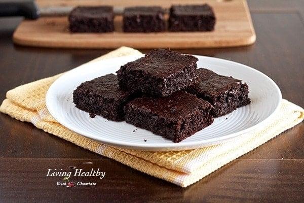 flourless fudgy brownie recipe - Halloween Brownie Recipe