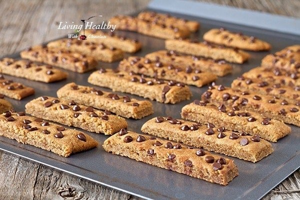 Paleo Chocolate Chip Cookie Sticks