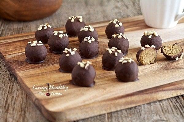 "Peanut"" Butter Truffles (grain, dairy, peanut free, paleo) - Living ..."