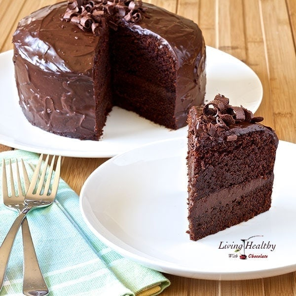 Gluten Free Chocolate Cake Made With Ground Almonds
