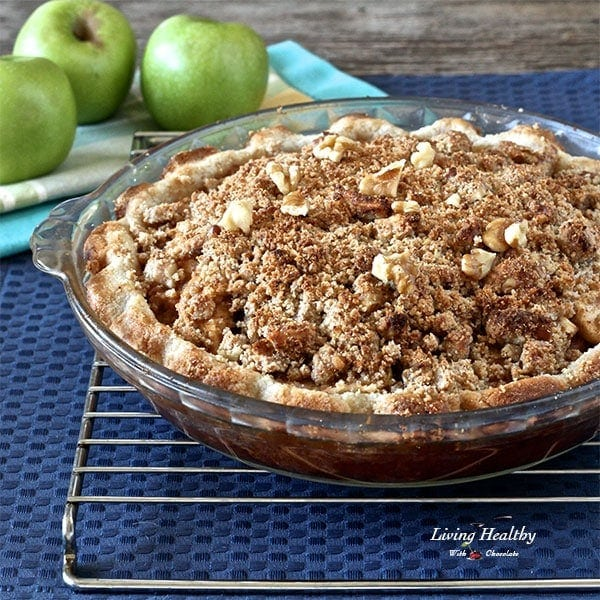 Paleo Apple Pie Recipe (grain/gluten/dairy/egg/sugar-free)