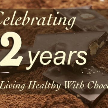 Living Healthy with Chocolate banner