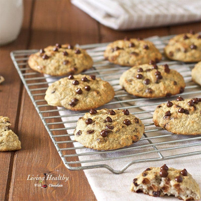 Chocolate Chip Waffle Cookies (gluten-free, nut-free, dairy-free ...