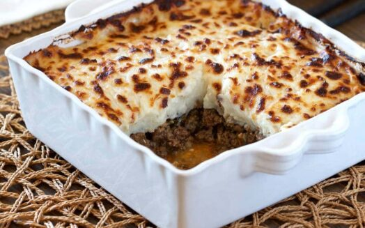 Healthy Shepherd's Pie Recipe (low-carb, paleo, whole30)