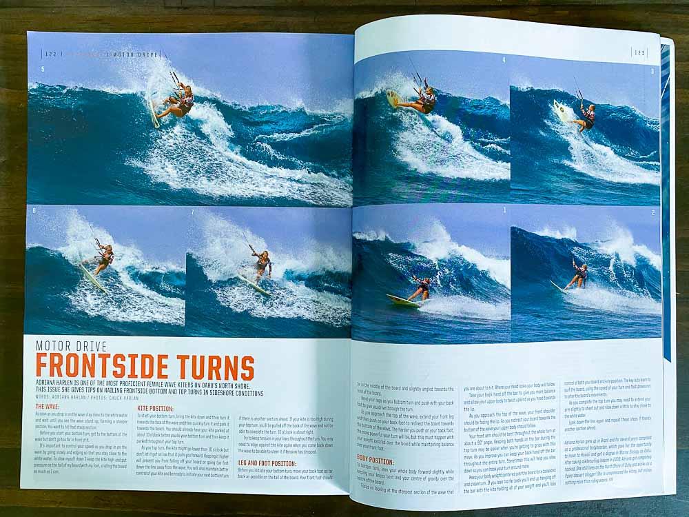 Adriana Harlan Kitesurfing Marshall Island - Kiteworld Magazine