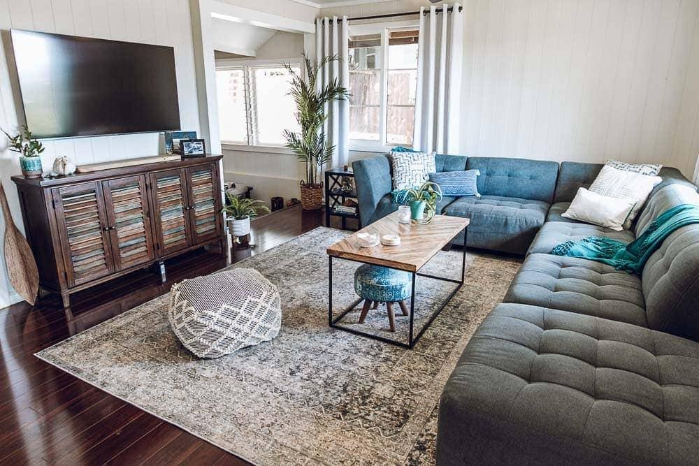 My Hawaii Living Room - Plantation Home