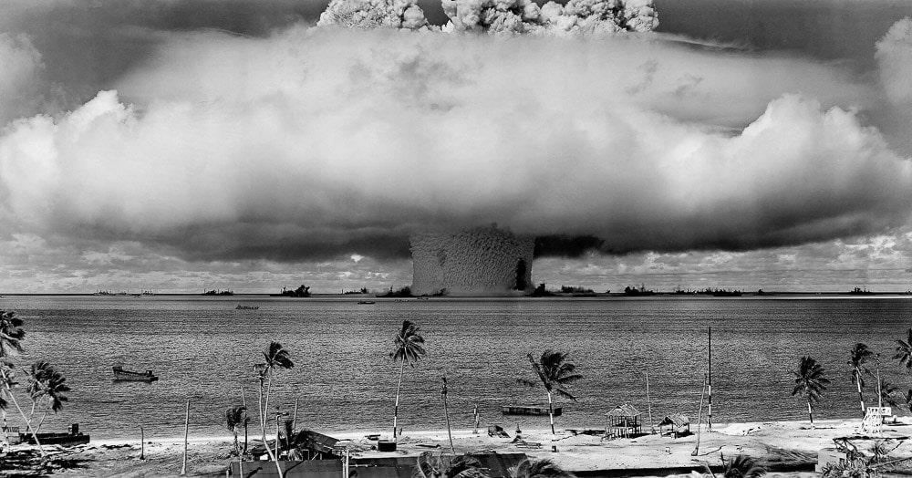 Nuclear bomb, Marshall Islands
