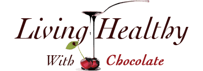 Living Healthy With Chocolate - Healthy Dessert Recipes logo